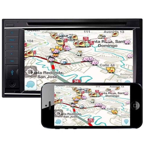 stereo doble din gps tv digital bluetooth amarok vento bora