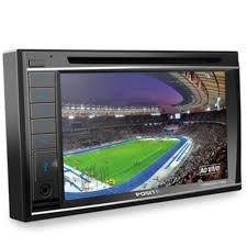 stereo doble din gps tv digital bluetooth ranger hilux fox