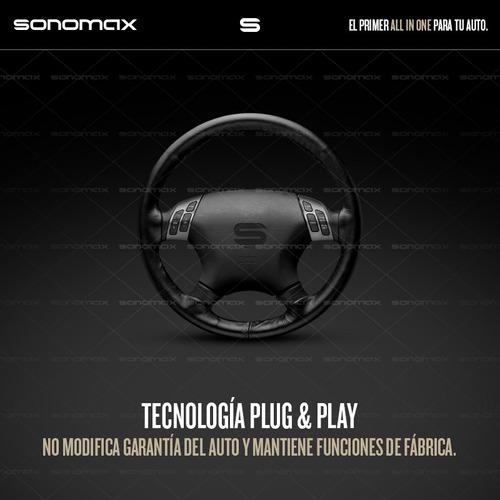 stereo fiat doblo gps dvd tv usb bluetooth tactil sonomax