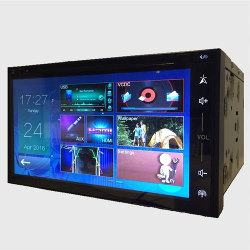 stereo gps doble din universal  dvd tv mirror link sonomax