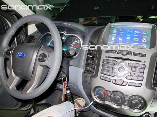 stereo gps garmin dvd tv ipod usb touch ford ranger sonomax