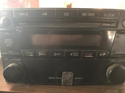 stereo mazda mpv 01 02 03 original