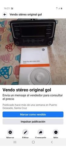 stereo original gol 2018 media plus rcd 320g 2din con manual