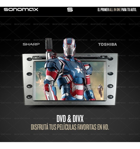 stereo peugeot 308 408 gps dvd bluetooth usb sonomax