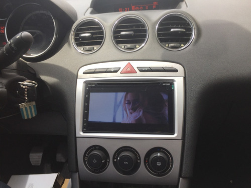 stereo peugeot 308 408 mirror android ios gps bt usb sonomax