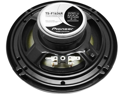 stereo pioneer 215 bluetooth 2019 + par parlantes 6 pulgadas