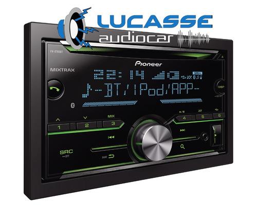 stereo pioneer 705bt usb cd bluetooth + marco toyota corolla