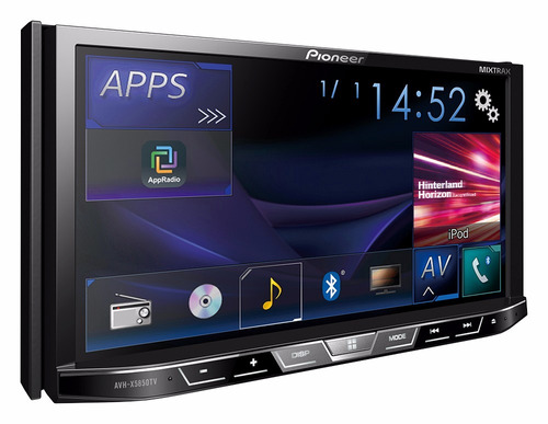 stereo pioneer avh x5850tv bluetooth dvd spotify mixtrax