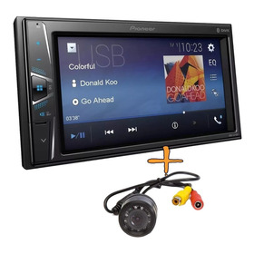 Stereo Pioneer Doble Din Usb 6.2 Amfm Dvd  Bt Sin Cd+ Camara