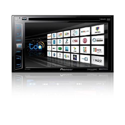 stereo pioneer gps tv digital avh x usb soble din zona sur!!