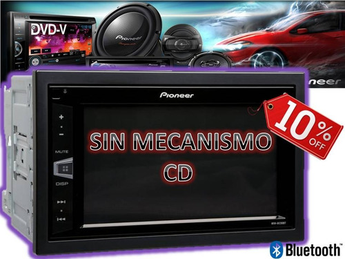 stereo pioneer mvh-av295bt bluetooth am/fm usb audiotrends