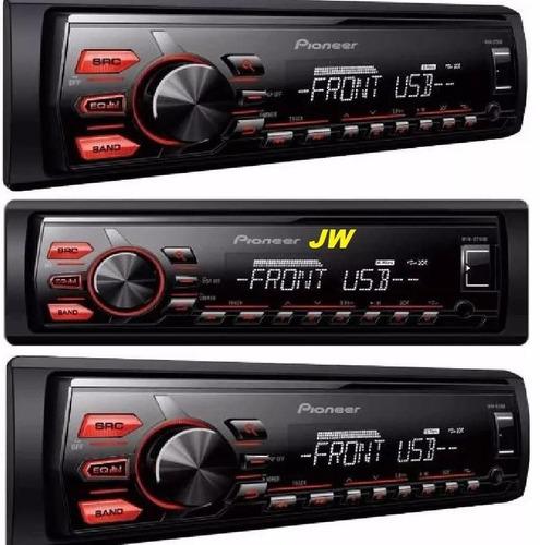 stereo pioneer usb mvh 85 auxiliar desmontable colocado