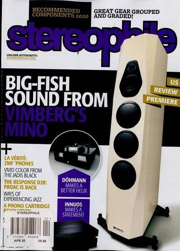 stereophile sound - assinatura 6 revistas impressas