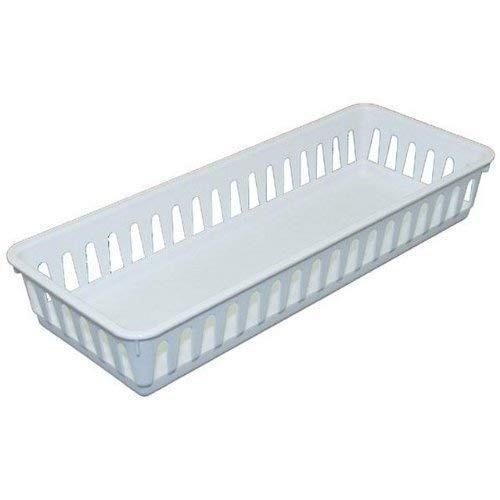 sterilite 16078024 slim storage tray, paquete de 12