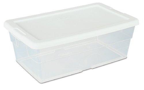 sterilite 16428012 quart 6 / 5,7 litros caja de almacenamie