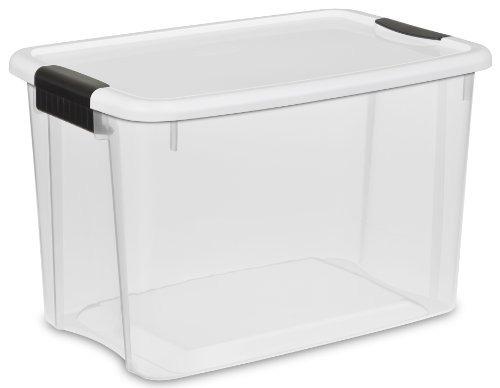 sterilite 19859806 quart 30/28 litros ultra box pestillo, t