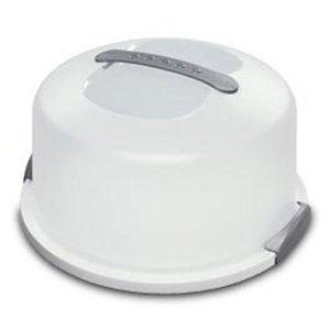 sterilite 2008004 cake servidor blanca (clear 1)