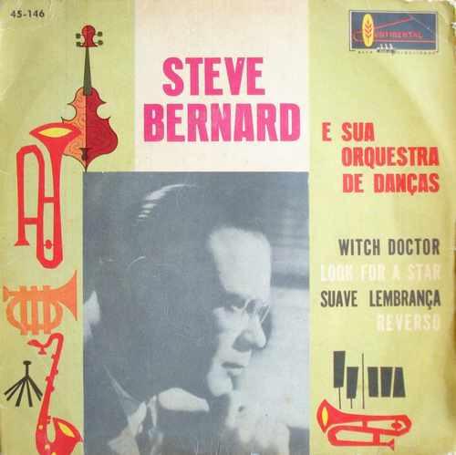 steve bernard - compacto de vinil witch doctor-mono 1962
