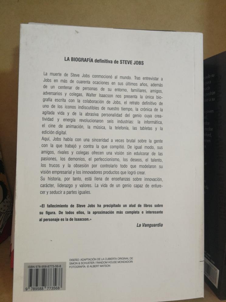 ee943d78ed0 Steve Jobs - Walter Isaacson Libro Nuevo - U$S 16,00 en Mercado Libre