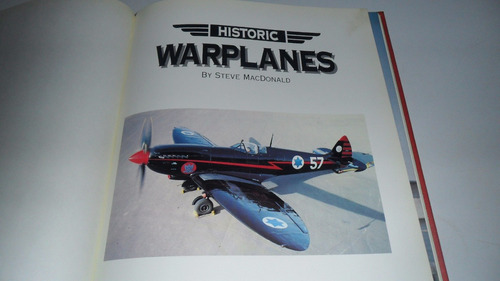 steve macdonald historic warplanes aviation tapa dura color