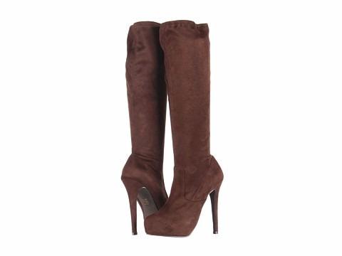steve madden botas talla 7 color marrón.