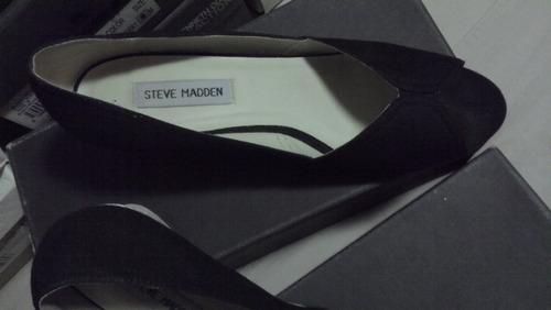 steve madden, zapatos negros 7.5 americano