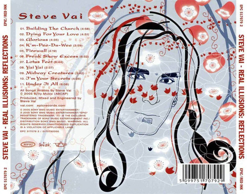 steve vai - real illusions: reflections (2005)