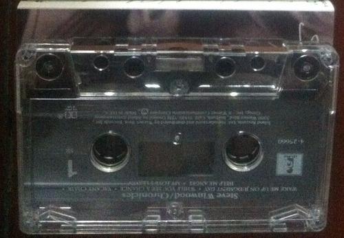 steve winwood, chronicles, cassette tape  importado.