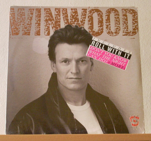 steve winwood - roll with it (vinilo)
