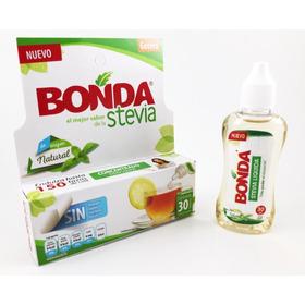Stevia Líquida 30ml Sabor Muy Dulce, No Amargo!! (4 Piezas)