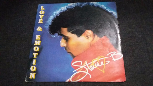 stevie b love & emotion lp vinilo electronica pop rock