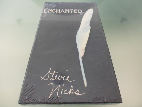 stevie nicks / enchanted / box set / 3 cds y 1 libro /