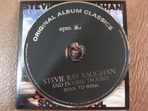 stevie ray vaughan - soul to soul cd