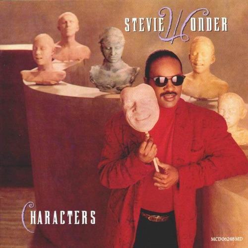 stevie wonder - characters. disco vinilo importado.