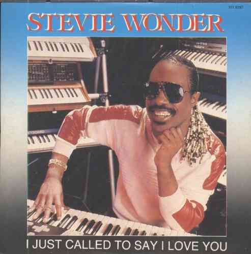 stevie wonder compacto de vinil i just called to say i love