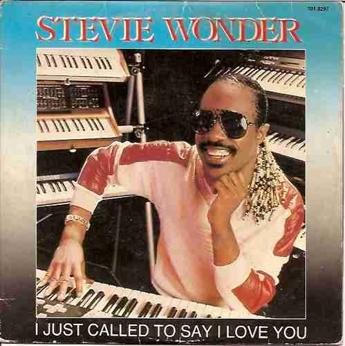 stevie wonder - compacto- i just called to say i love you-lp