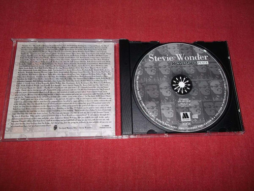 stevie wonder - conversation peace cd imp ed 1995 mdisk