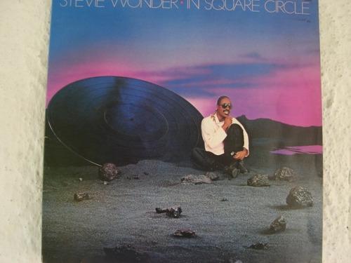 stevie wonder in square circle lp vinil zerado pop anos 80
