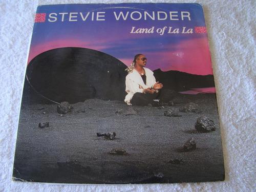 stevie wonder land of la la lp uk vinilo maxi excelente+++