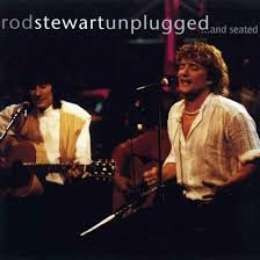 stewart rod unplugged...and seated cd + dvd nuevo