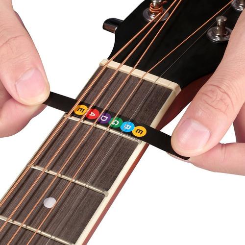 sticker adhesivo calcomania notas para trastes de guitarra