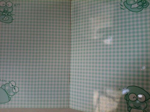sticker albun ranita kerokero keroppi japones sanrio usado