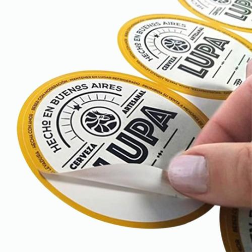 sticker autoadhesivo - etiquetas - troquelado personalizado