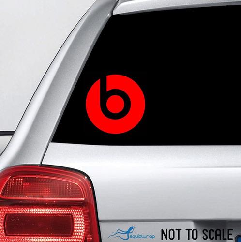 sticker beats dre parlantes audifonos autos camionetas mde