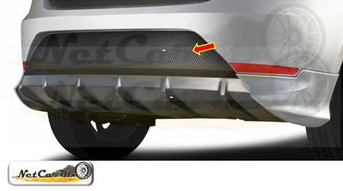 sticker blackout seat ibiza 2010 al 2017 fascia trasera