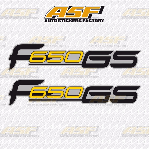 sticker calcomania vinil - bmw f650gs
