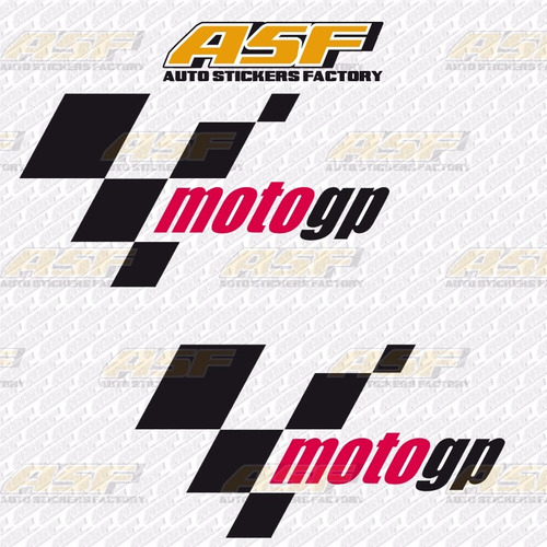 sticker calcomania vinil - logo moto gp motogp