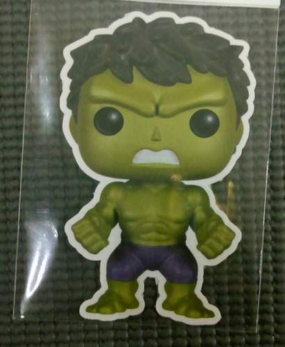 sticker de hulk,calcomania avenger... pegatinas