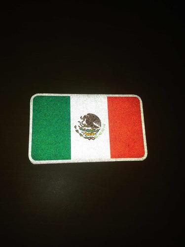 sticker de mexico reflejante