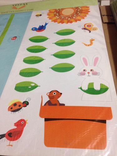 sticker decorativo cuarto. modelo grande 8